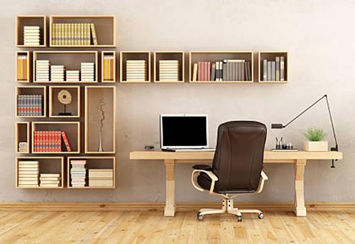 nicho para escritório em home office