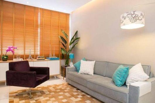 sala moderna  com poltrona