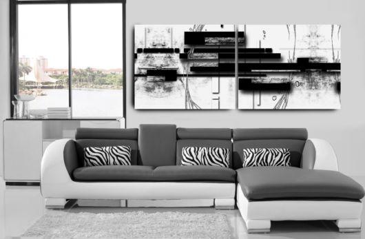 Um quadro que combina perfeitamente com uma decoração minimalista
