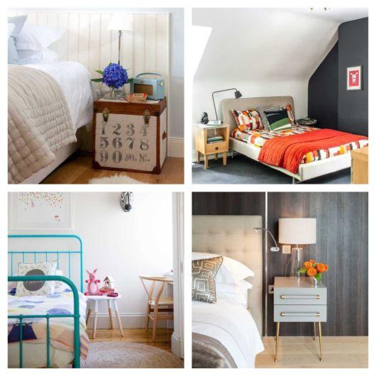 Os móveis de madeira são convencionais em várias propostas de decoração