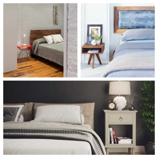 Pesquise nas lojas e escolha o modelo de criado mudo ideal para o seu quarto