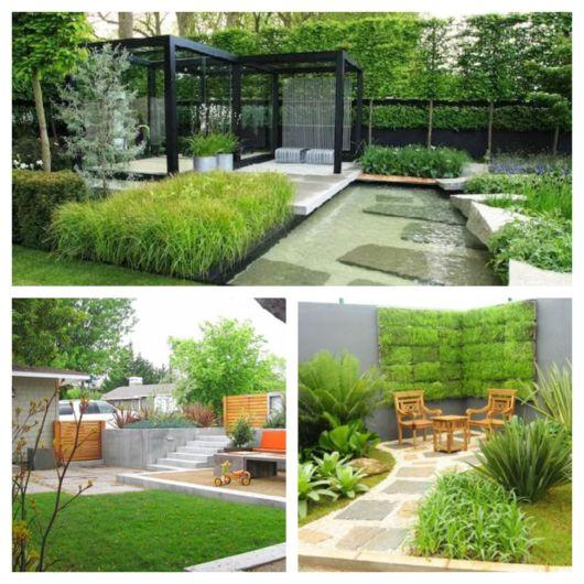 Lindas tendências de jardins modernos + dicas para montar o seu