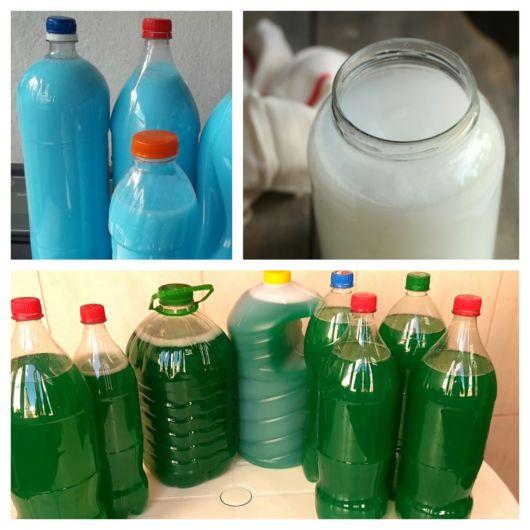 Aprenda a fazer detergente caseiro com várias receitas simples e rápidas