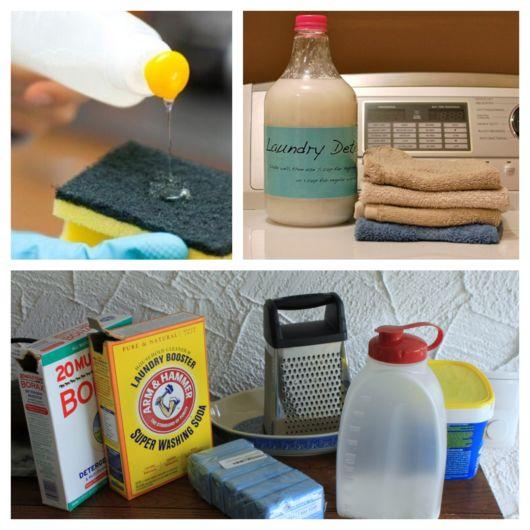 Com materiais acessíveis, você consegue fazer detergente facilmente em casa