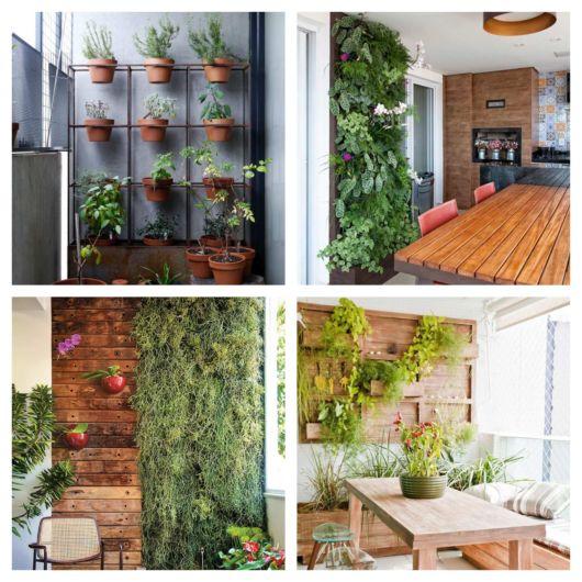 Tendências de jardim vertical para áreas internas
