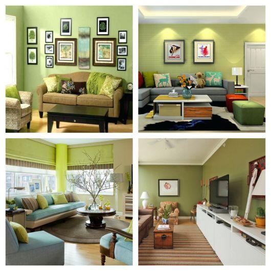 Verde claro para iluminar a sua sala e todo o ambiente