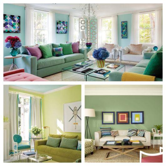 Sem dúvidas, uma decoração com verde deixa qualquer ambiente mais leve, fresco e sereno