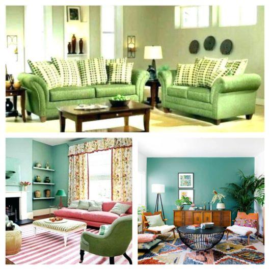 70 inspirações de sala verde + dicas de decoração