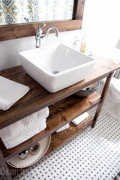 Bancada com três compartimentos, perfeita para a organização do seu banheiro