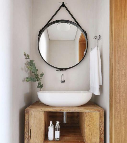 Uma ideia prática e básica para o seu lavabo