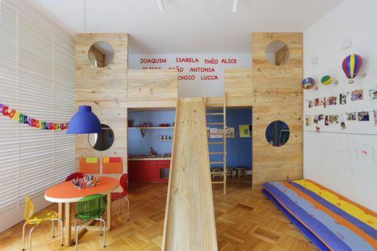 Sem dúvidas, é possível projetar uma brinquedoteca em qualquer cômodo de sua casa