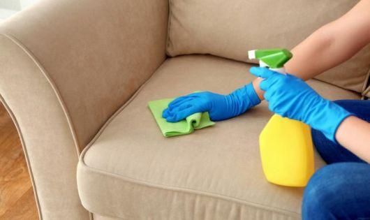 limpeza sofá de tecido