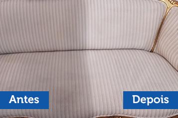 limpeza antes e depois