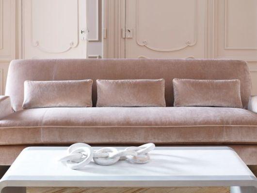dicas e cuidados com sofá de veludo