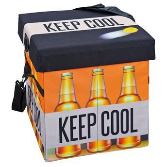 Esse cooler de cerveja funciona como puff também