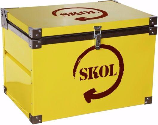 Estilo baú grande customizado Skol
