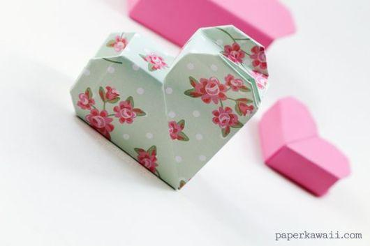 dobradura de papel decorado