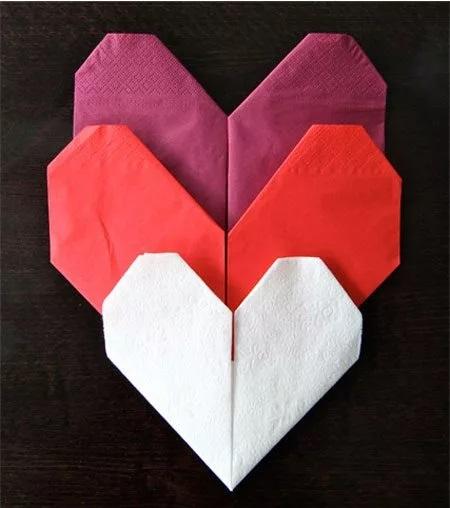 dobraduras para guardanapo de papel