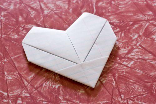 dobradura simples para carta