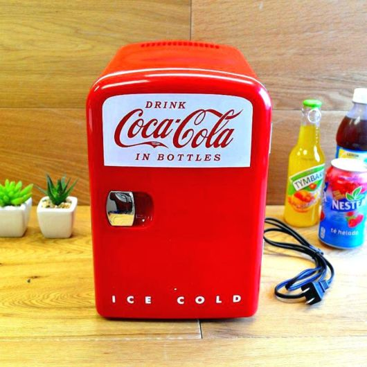 modelo retrô da Coca-Cola