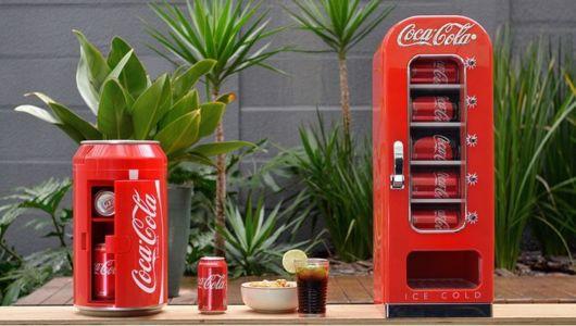 geladeira de refrigerante