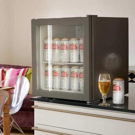 modelo para cerveja com porta de vidro