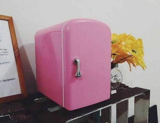 geladeirinha rosa