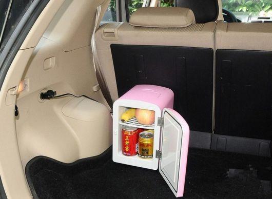 geladeirinha portátil carro