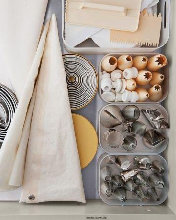 como organizar gaveta da cozinha