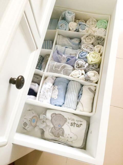 organização quarto bebê