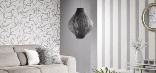 Você pode forrar cada parede com um papel diferente, desde que mantenham o ambiente equilibrado e coerente