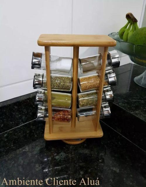 modelo giratório de bambu