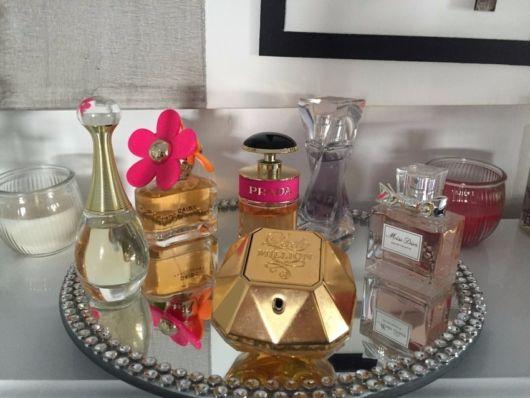 perfumes na decoração