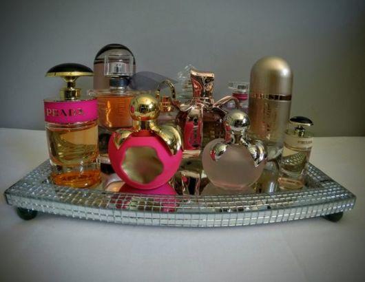 decoração com perfumes