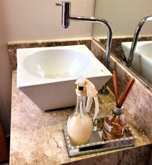 bancada de mármore lavabo