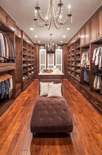 closet luxuoso casal