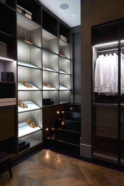 closet luxuoso pequeno