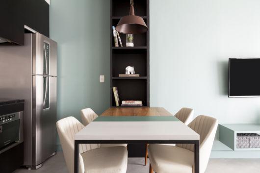 como decorar apartamento pequeno com cores claras