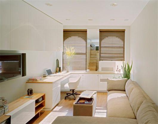 como decorar apartamento pequeno todo branco