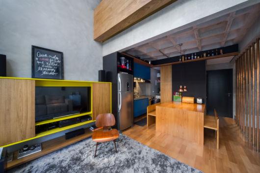 integração de espaços em como decorar apartamento pequeno