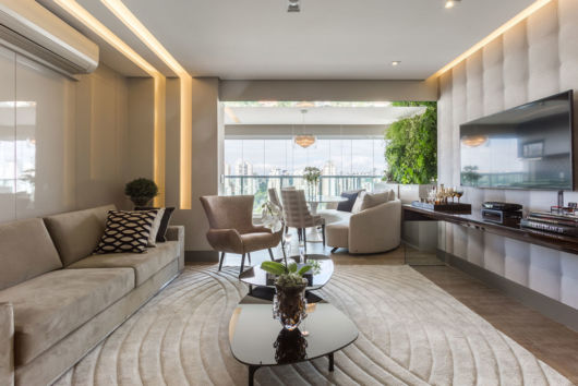 como decorar apartamento pequeno projeto clean