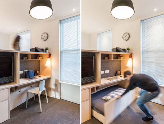 como decorar apartamento pequeno com móveis planejados