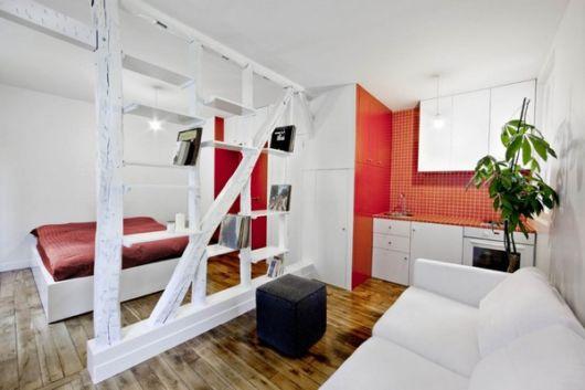 como decorar apartamento pequeno sala e quarto
