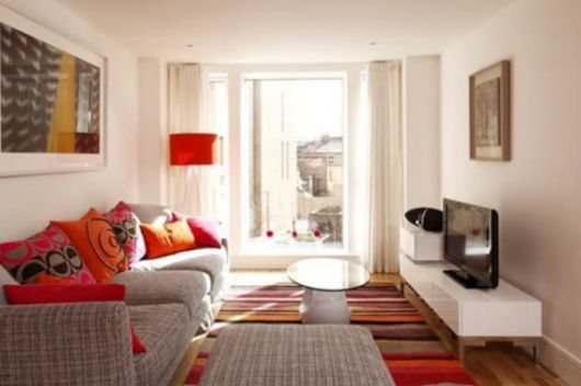 como decorar apartamento pequeno sala pequena