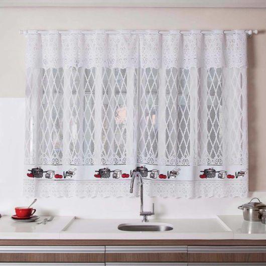 cortina de cozinha