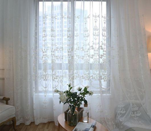 cortina até o chão para sala