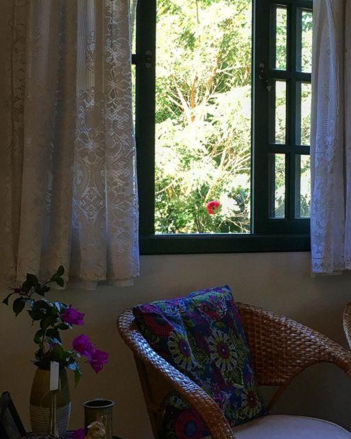 cortina com forro sala