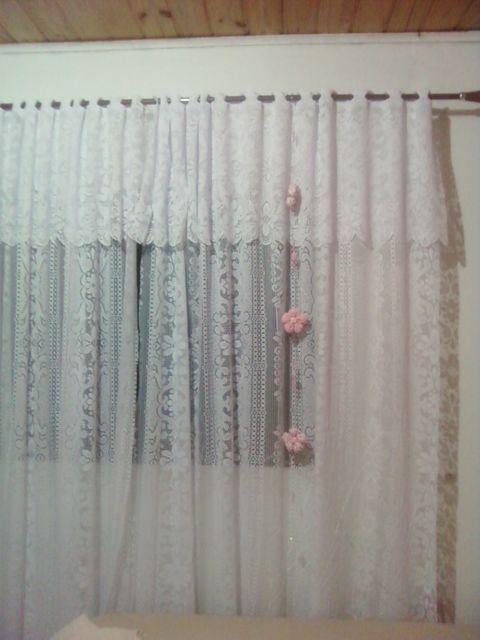 cortina com bandô para sala