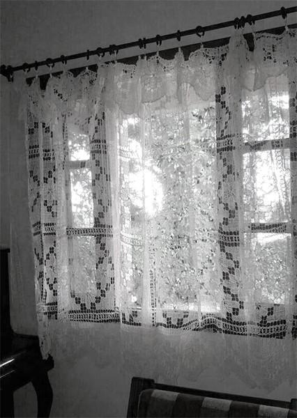 cortina simples para sala