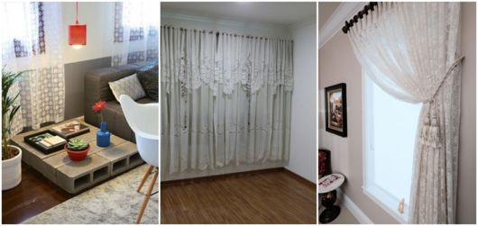 modelos de cortina para sala